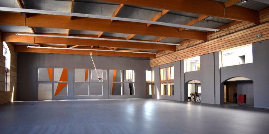 Salle de sport Oran Delespaul à Roubaix - vue de la grande salle