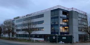 ISAGRI - Photo de chantier façade 1